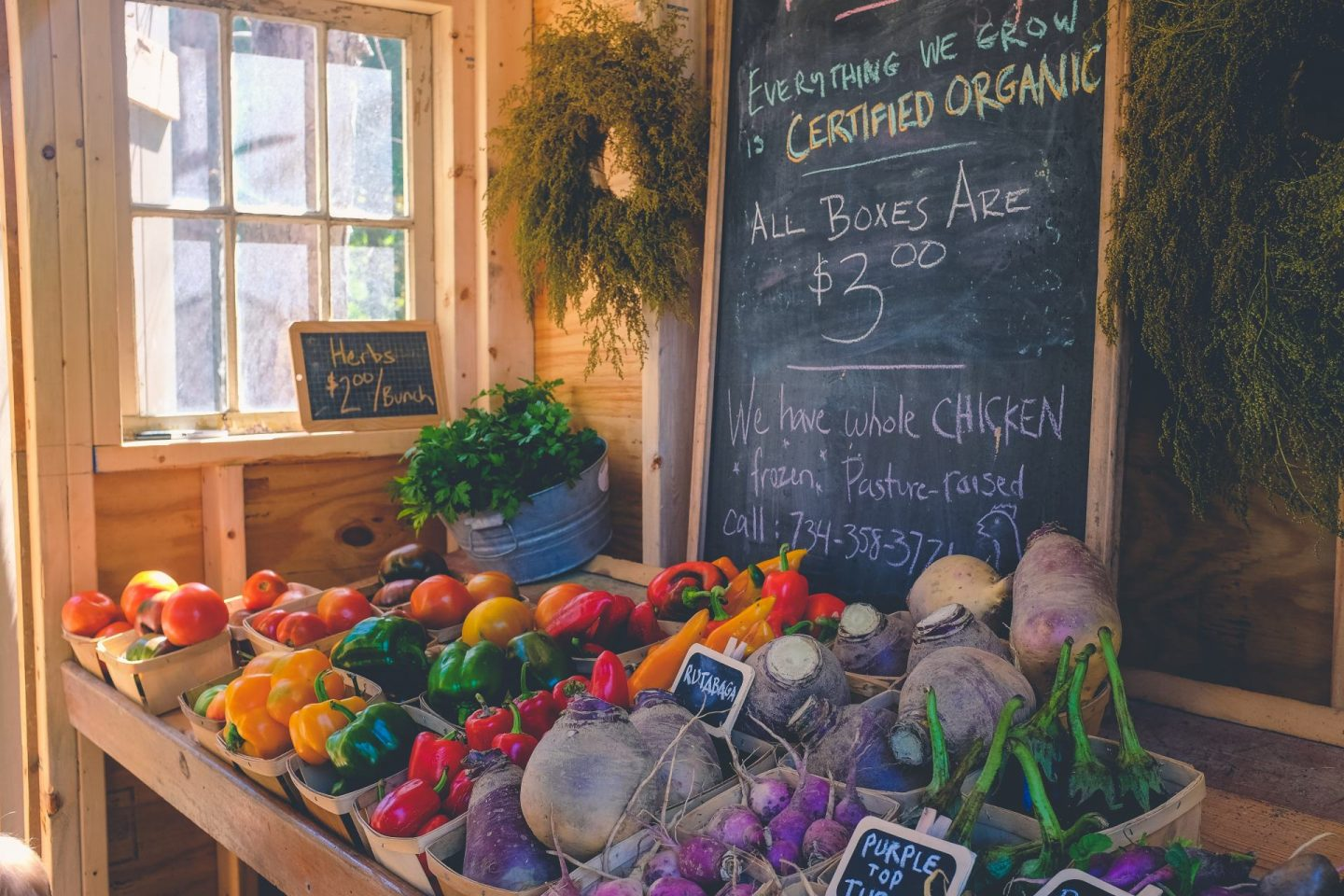 sustainability tip: shop farmers markets