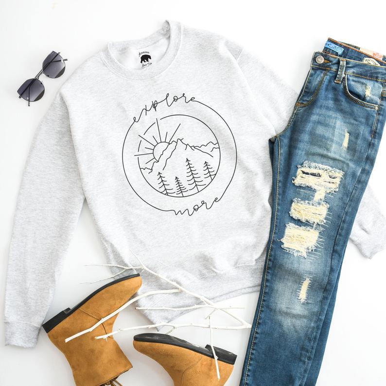 explore more sweatshirt