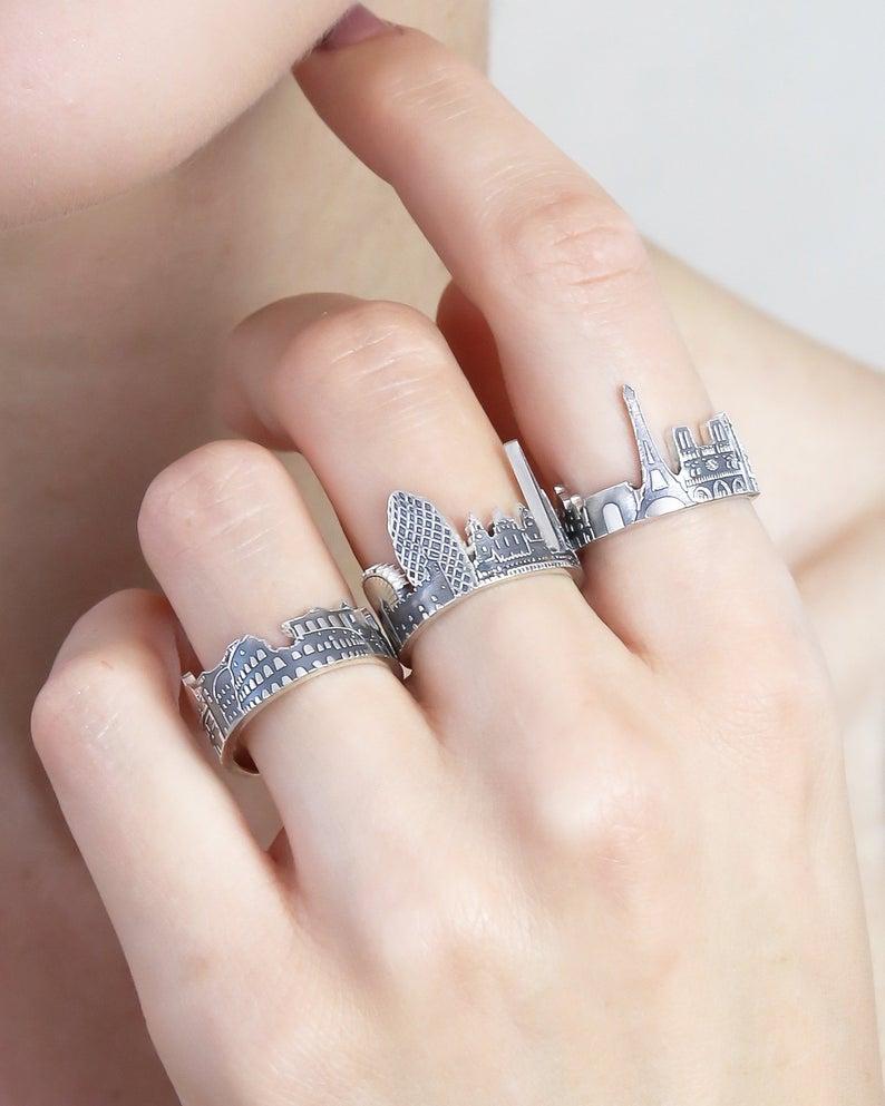 custom city ring gift