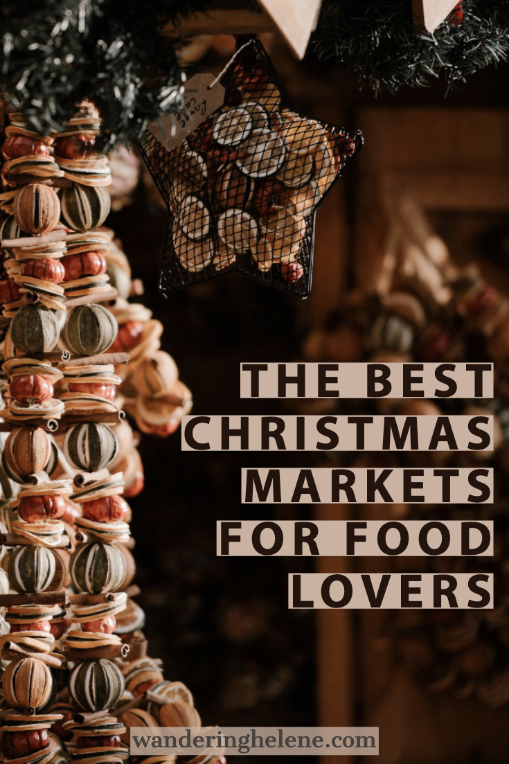 Bloggers and travelers from around the world shared their favorite European Christmas Markets foods! Try local delicacies, seasonal cusiines, and sugary sweets in Germany, Austria, Luxembourg, Croatia, and Hungary. See the best markets to visit for a hearty meal or a cup of mulled wine. There is no shortage of choices that will leave you hungry and booking your next trip. #food #christmasmarkets #wintertravel #holidayfood #christmasfood #germanchristmasmarkets #europe