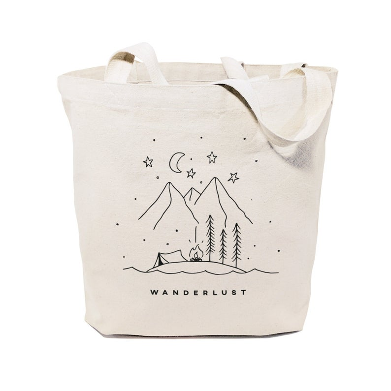 wanderlust tote bag gifts for travelers