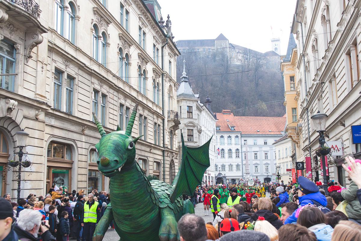 dragon parade ljubljana