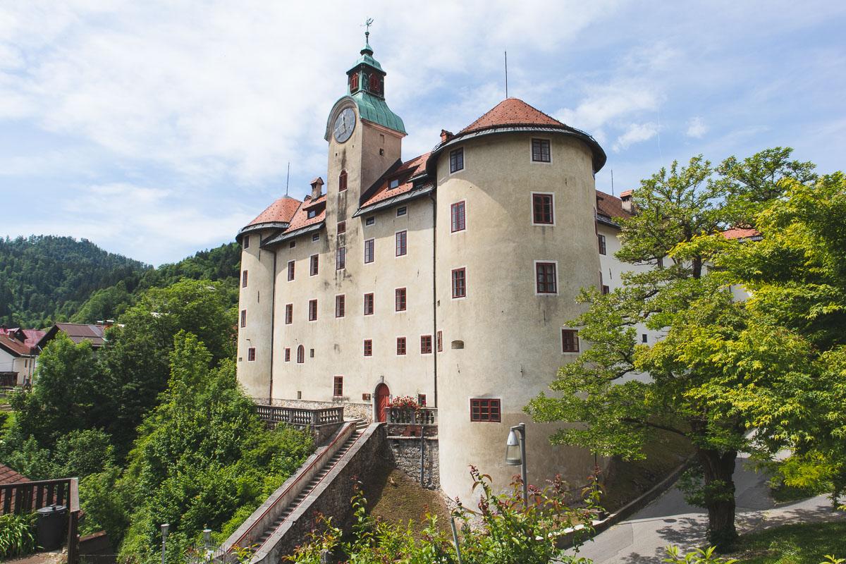 Gewerkenegg Castle Idrija