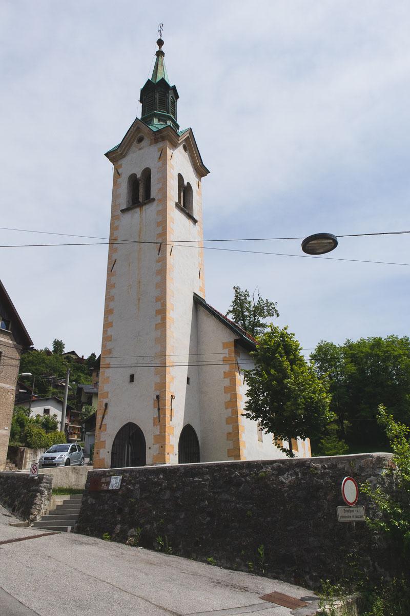Holy Trinity Church Idrija