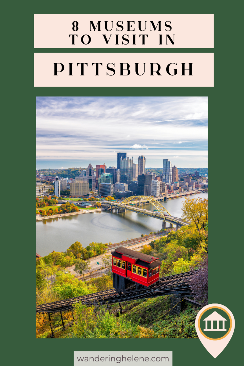 A Pinterest Pin for Museums in Pittsburgh
